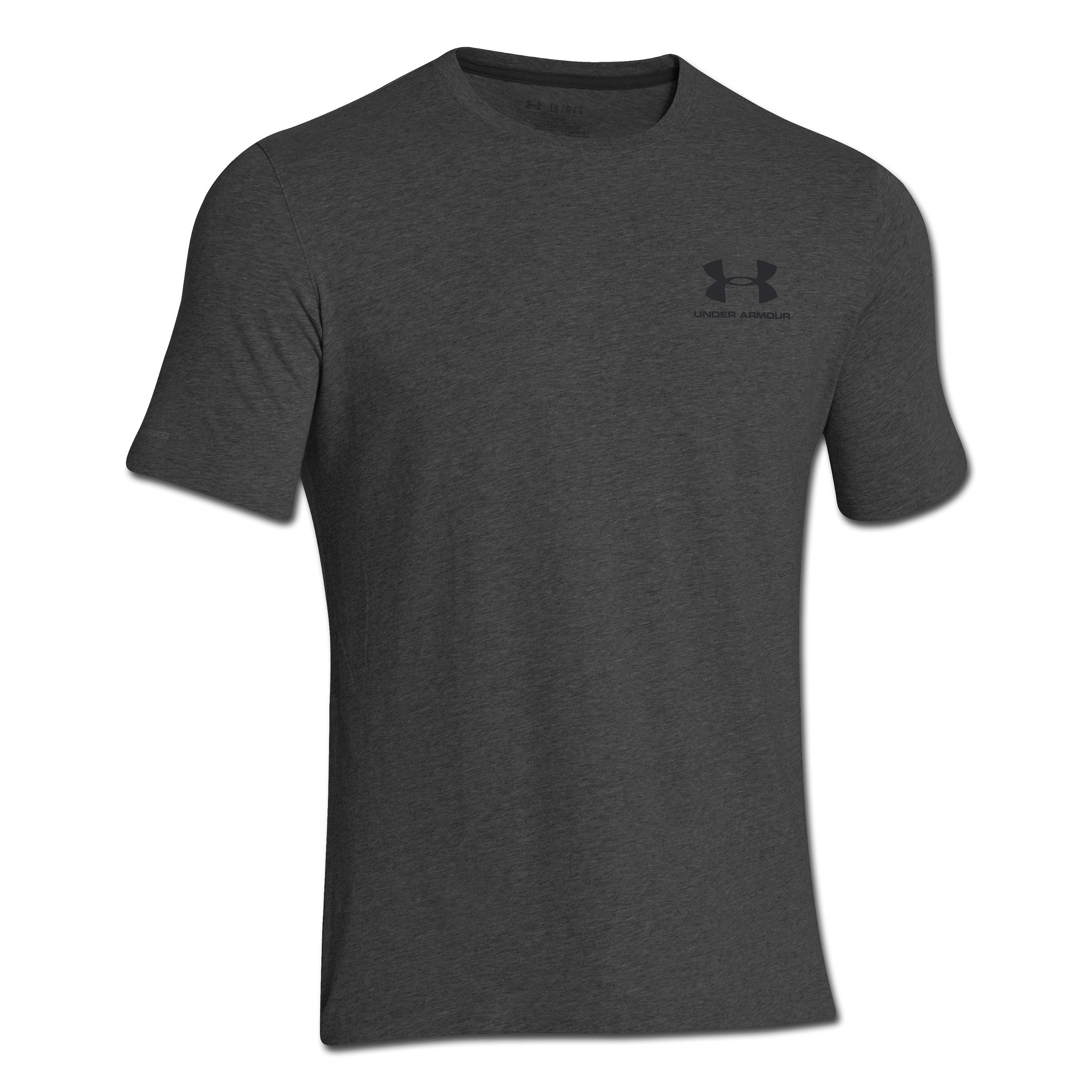 T-shirt CC Sportstyle Under Armour carbone