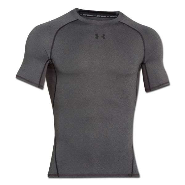 Under Armour T-shirt de compression HeatGear carbone