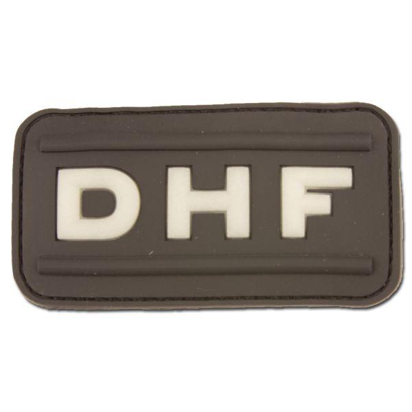 Patch caoutchouc 3D DHF swat