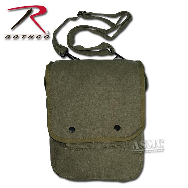Sac Map Case Shoulder Bag kaki
