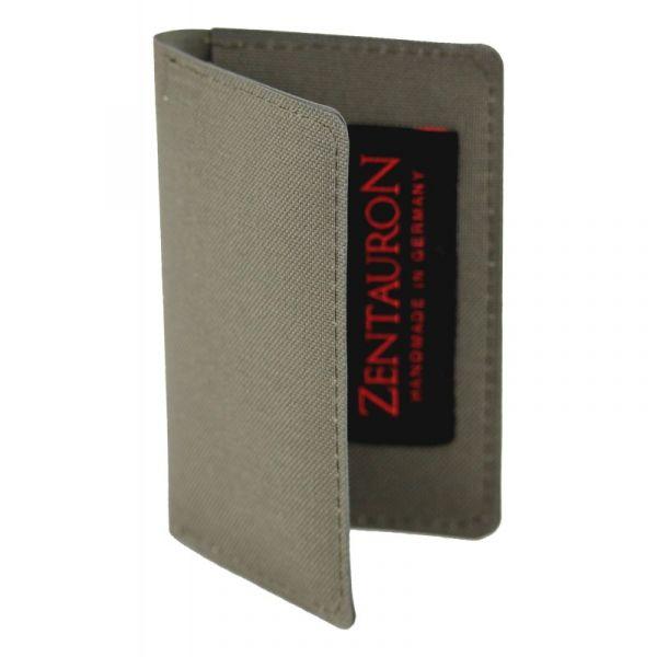 Zentauron Porte-cartes gris pierre olive