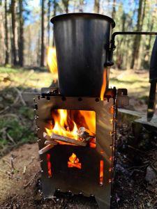 Kochen im Wald!