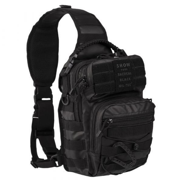 Sac à dos Assault Pack One Strap Tactical Black Small