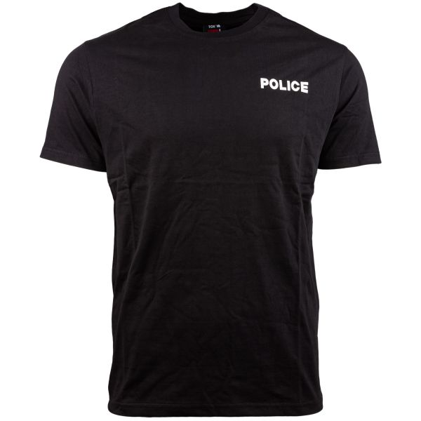 T-shirt Strong police TOE Concept noir