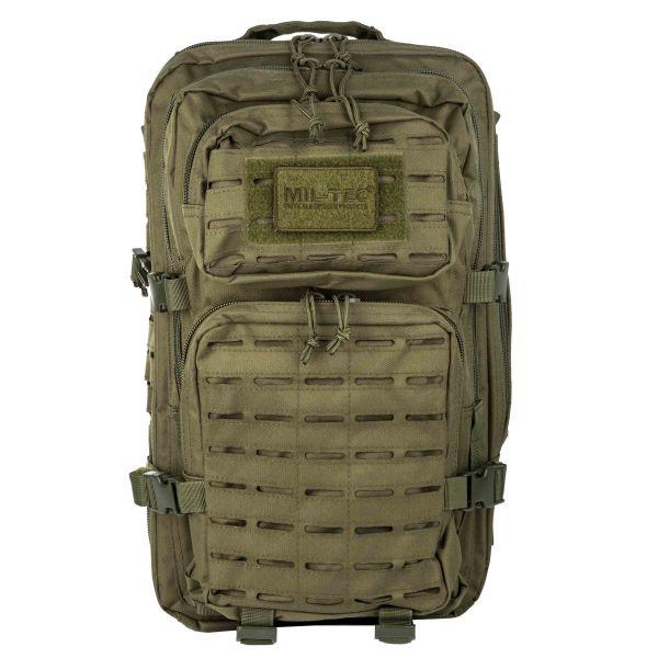 Sac à dos US Assault Pack LG Laser Cut olive
