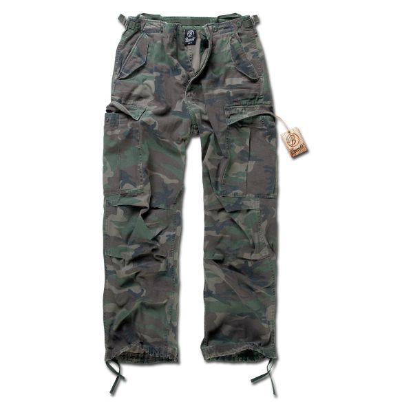 Pantalon M65 Vintage Brandit woodland