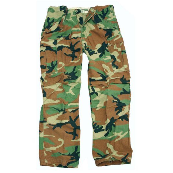 Pantalon MMB M-65 pré-lavé woodland