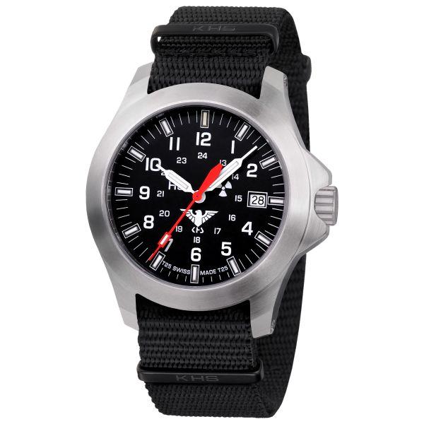 KHS Montre Platoon LDR Bracelet Otan noir