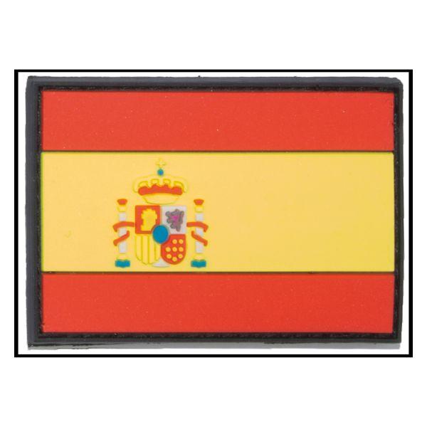 Patch 3D Drapeau Espagne petit