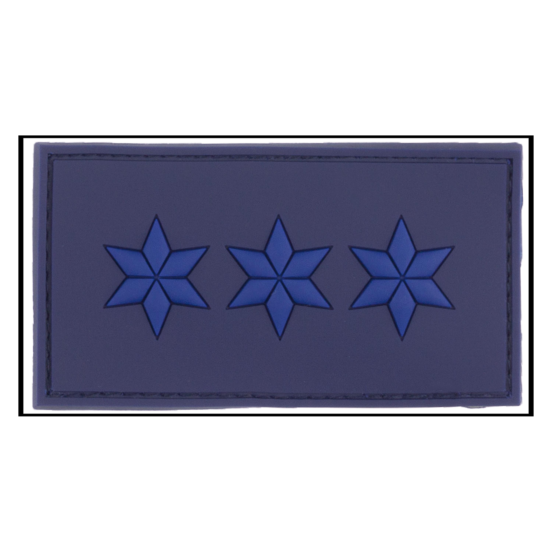 Patch 3D Grade Polizeiobermeister bleu