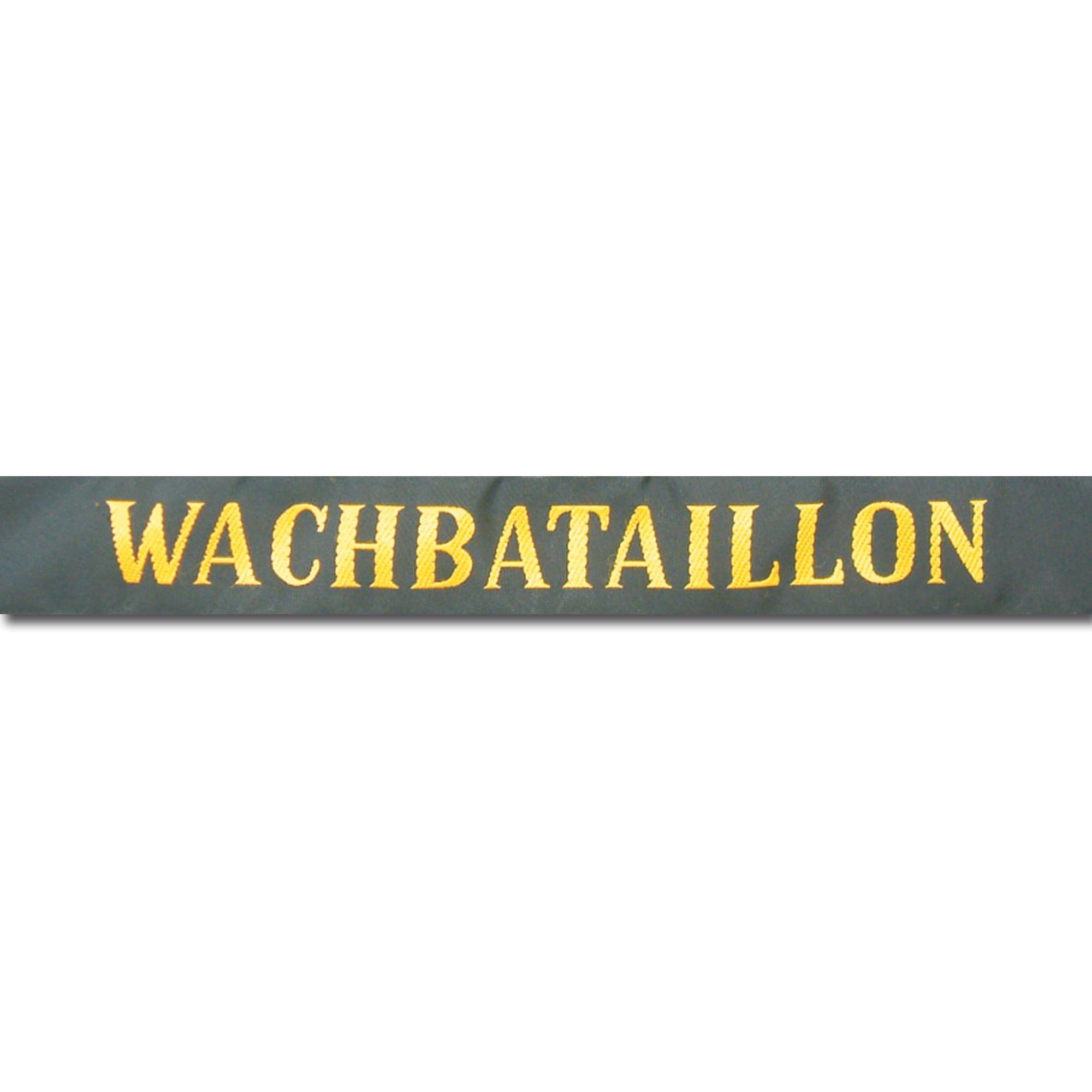 Bandeau de casquette marine Wachbataillon