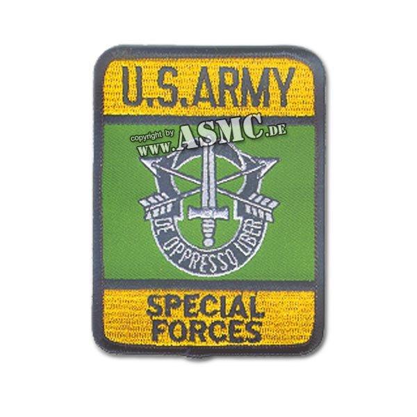 Insigne Tissu US Special Forces Rectangulaire