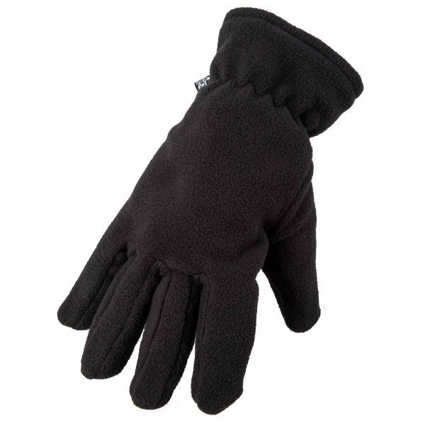 Gants polaires thermiques noir