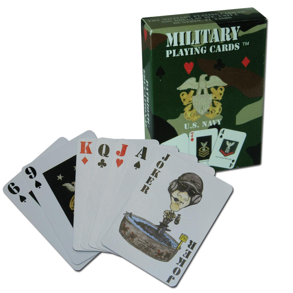 Jeu de Cartes US Navy