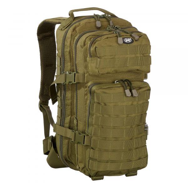 MFH Sac à dos US Assault Pack 20 L olive
