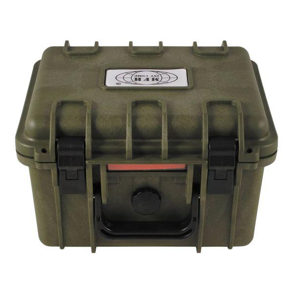 MFH Boîte en plastique étanche vert olive