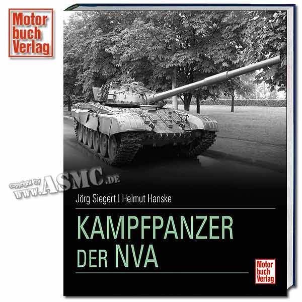 Livre Die Kampfpanzer der NVA