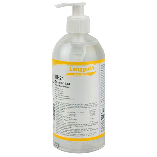 Langguth Produit désinfectant Desmila LSI DE21 500 ml