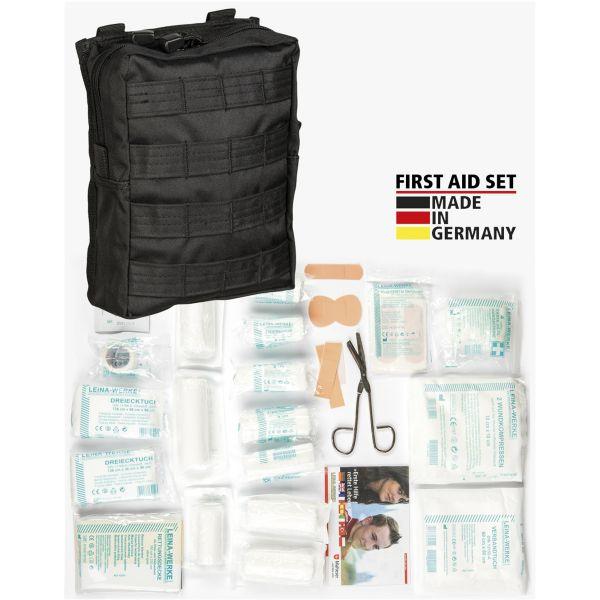 Leina Kit premiers secours Pro 43 pièces noir