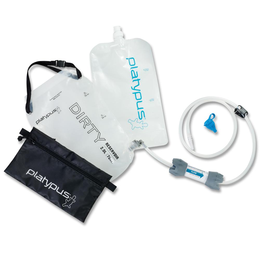 Filtre à eau Platypus GravityWorks 2L Kit Complet