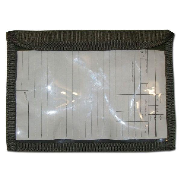 Zentauron Porte bloc-notes transparent olive