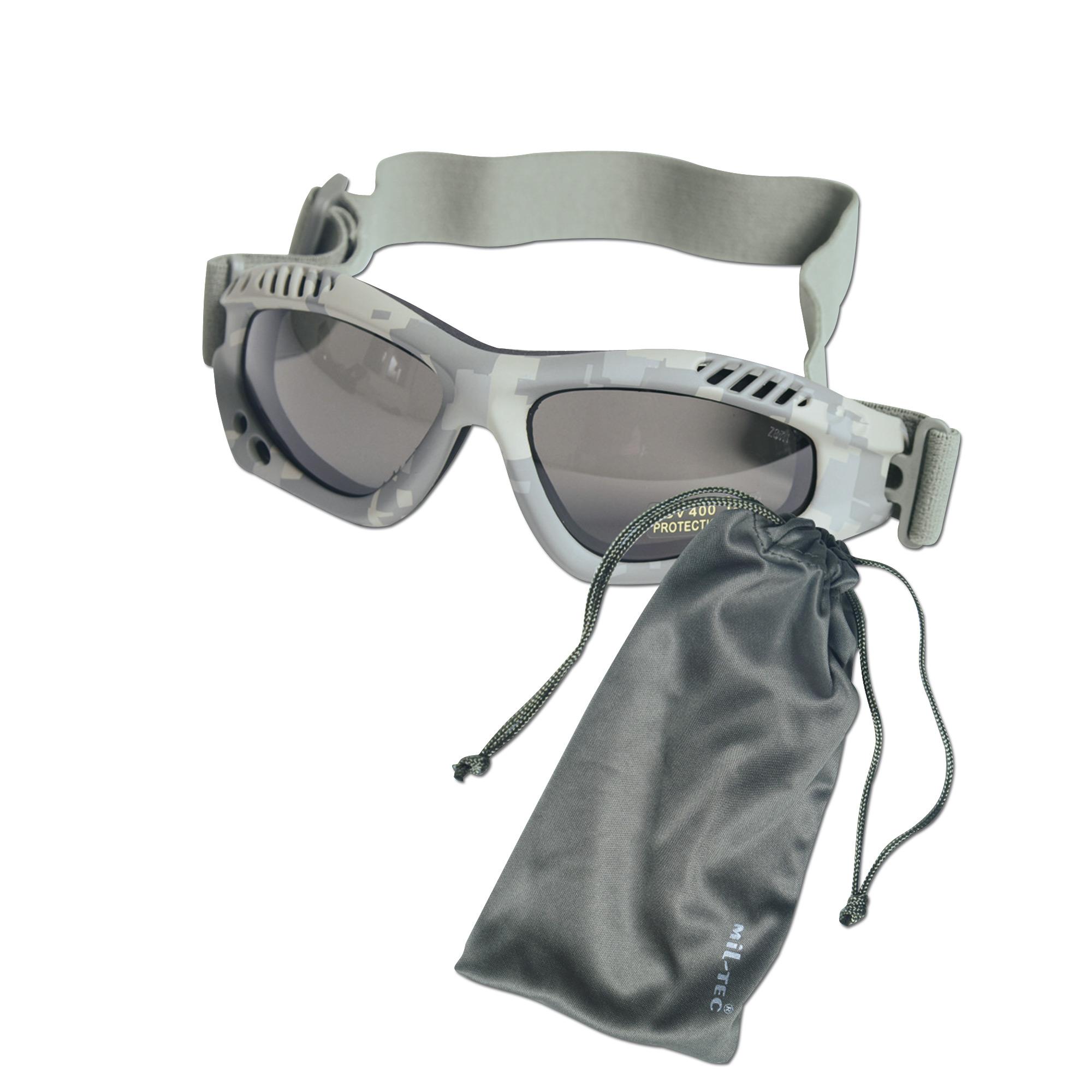 Masque de protection Commando Air-Pro AT-digital smoke