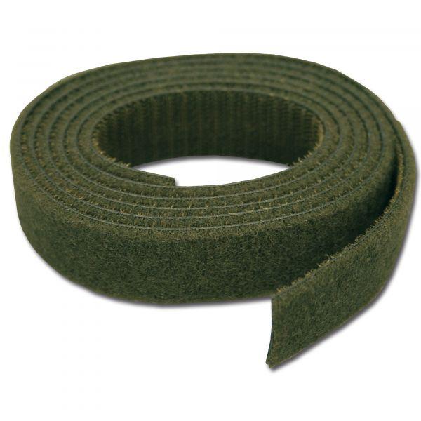 Sangle Velcro 2,5 cm olive