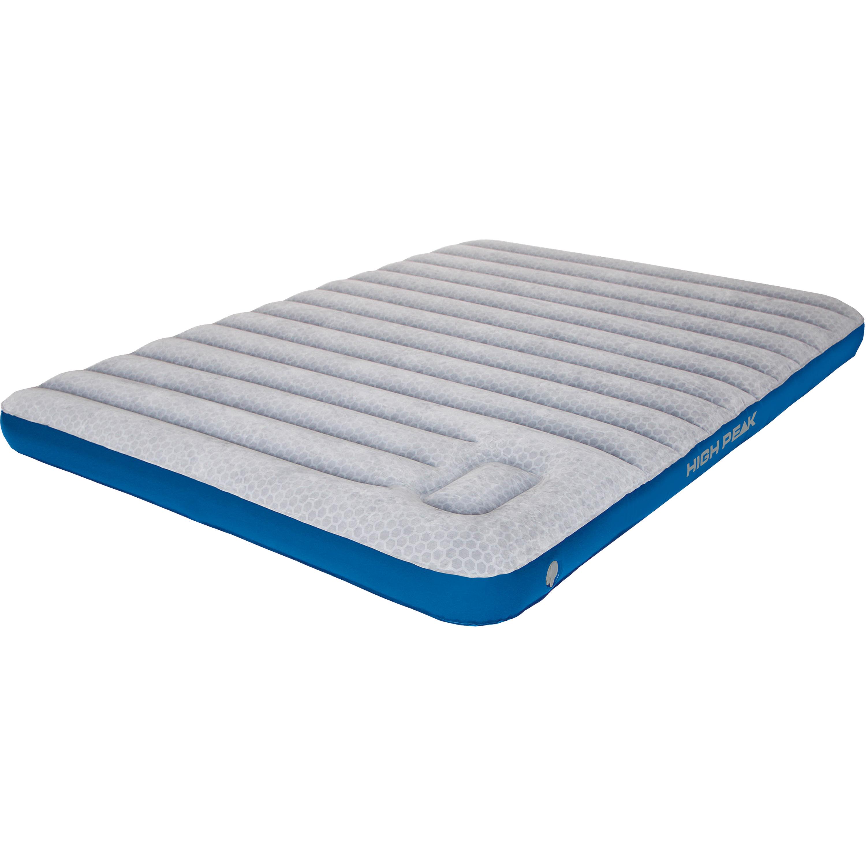 High Peak Matelas Comfort Plus Double très long gris-bleu