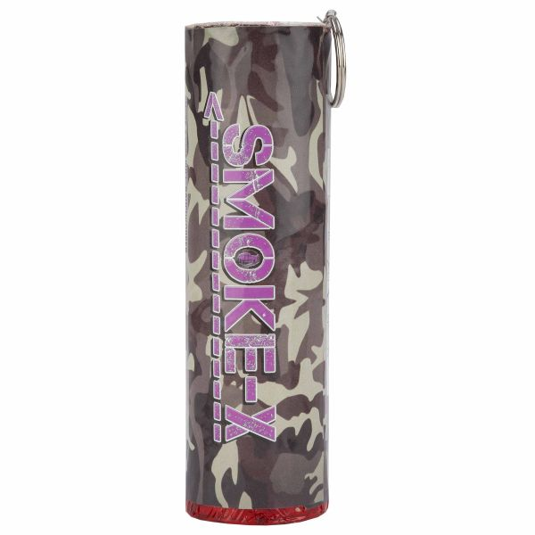 Smoke-X Grenade fumigène SX-11 Wire Pull violet