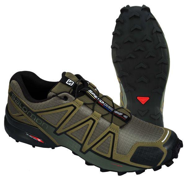 Salomon Chaussures Speedcross 4 olive noir