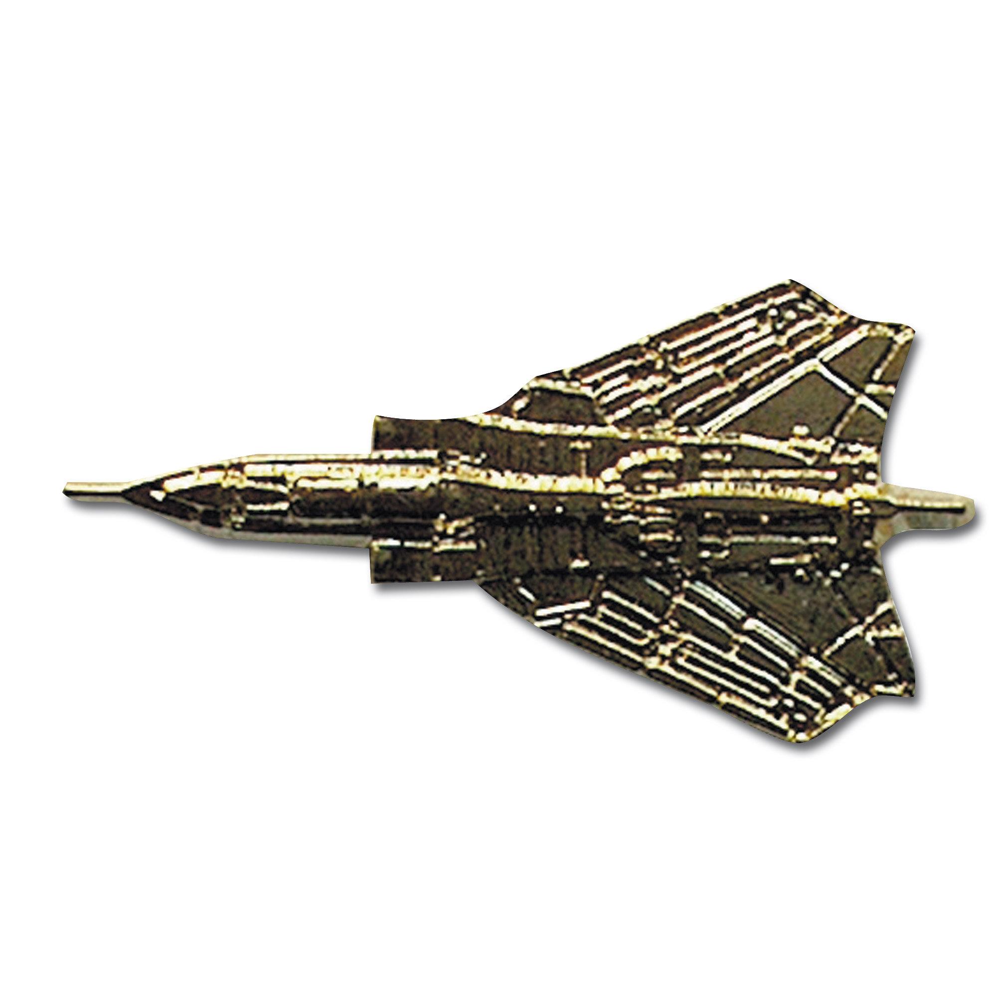 Pins Métallique Mini Avion de Chasse Tornado