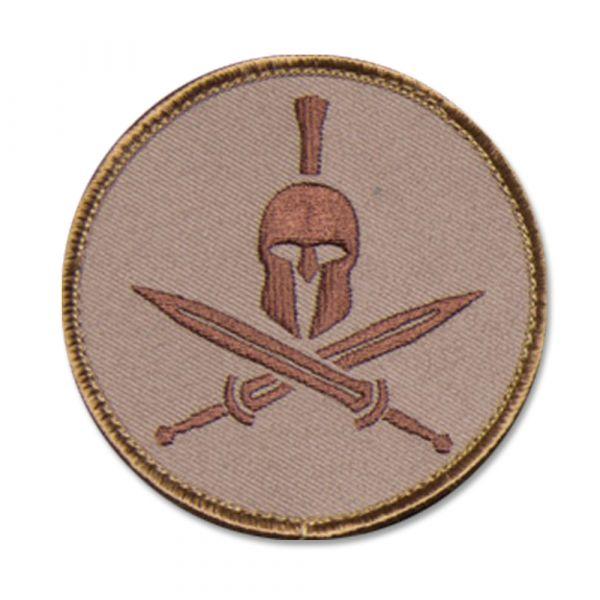 Patch MilSpecMonkey Spartan Helmet desert