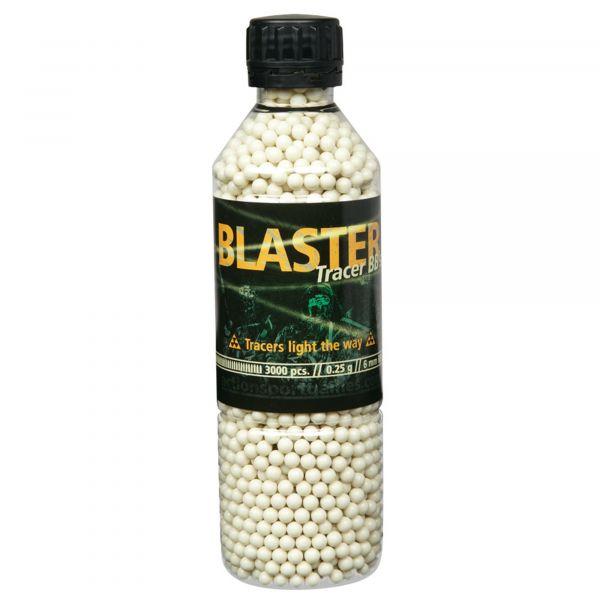 ASG Billes airsoft Blaster Tracer 0.25g 6mm 3300 billes blanc