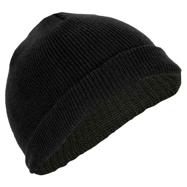 MFH Bonnet de marin polyacrylique très court noir