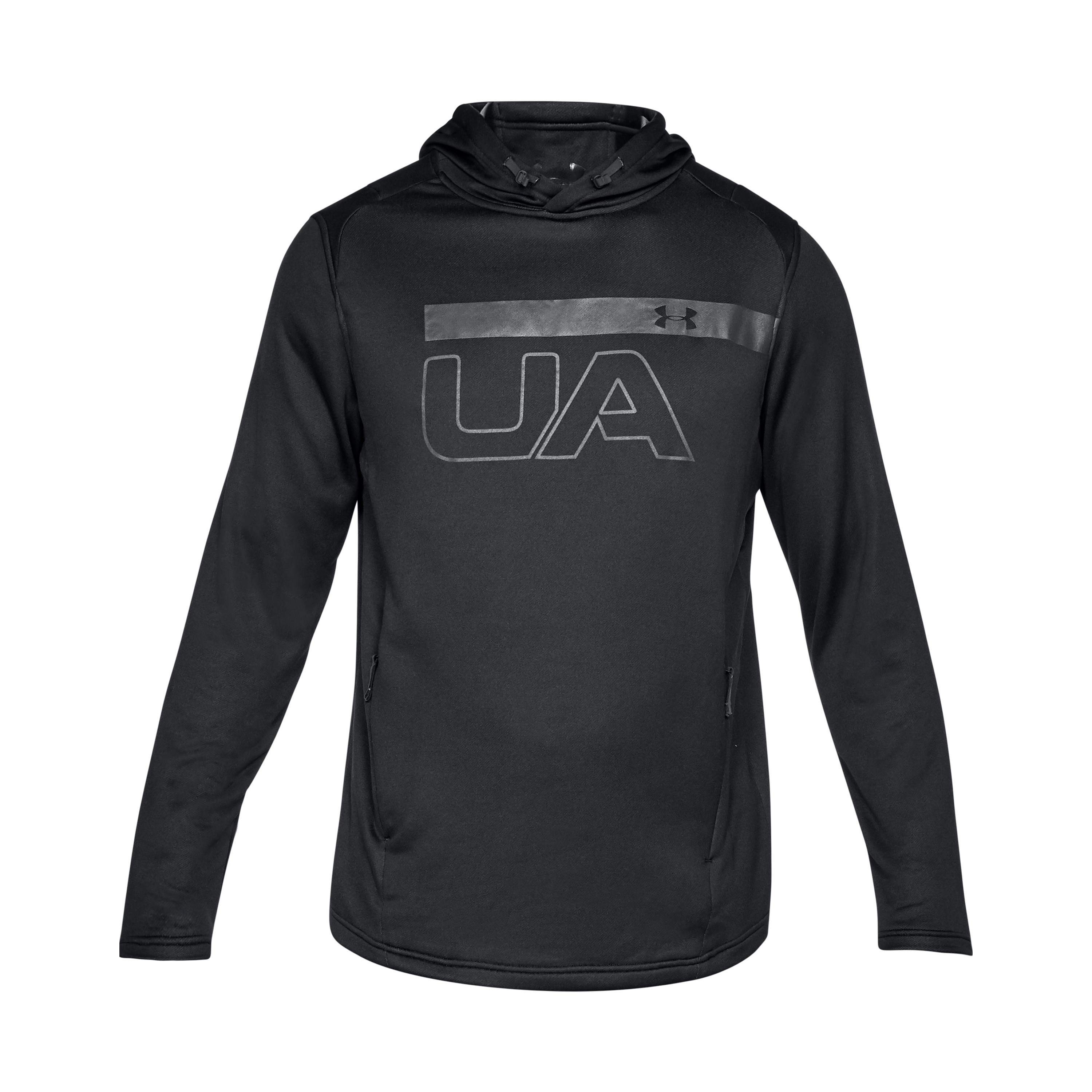 Under Armour Sweatshirt Tech Terry Graphic noir