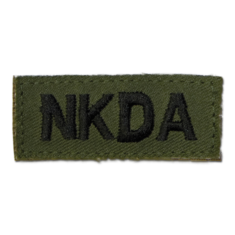 Insigne tissu NKDA velcro kaki