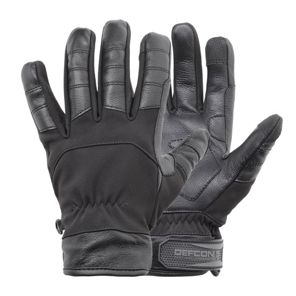 Defcon 5 Gants Softshell noir