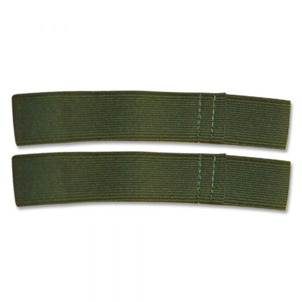 Élastiques pour pantalon olive lot de 2