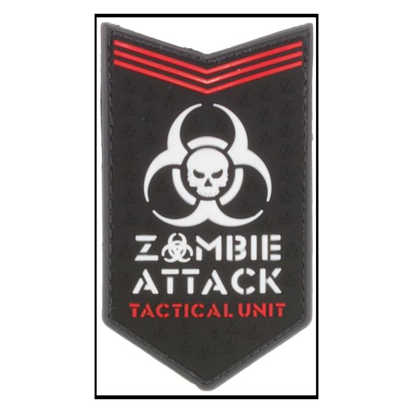 Patch 3D Zombie Attack swat