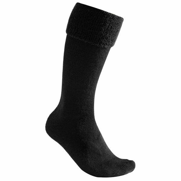 Woolpower Chaussettes Knee-High 600 noir