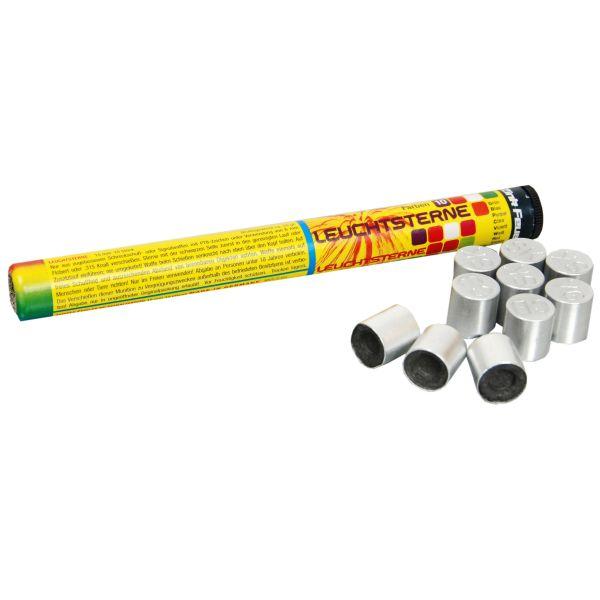 Zink Feux d'artifice 10-C Signalsterne 15 mm 10 Pièces