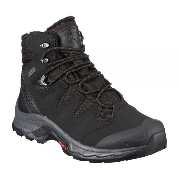 Salomon Chaussures Quest Winter GTX black ebony