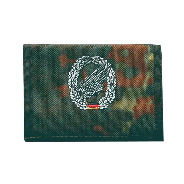 Porte-monnaie Parachutistes flecktarn