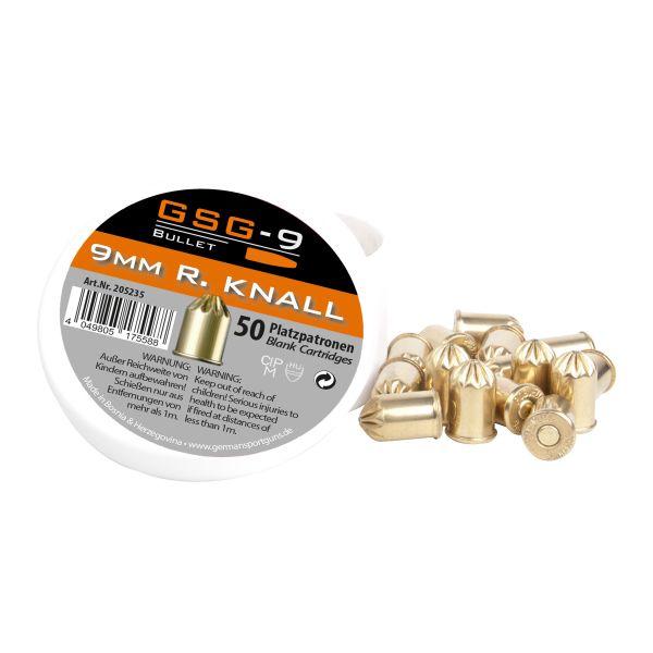 GSG Balles à Blanc Revolver cal. 9 mm R.K. 50 pcs