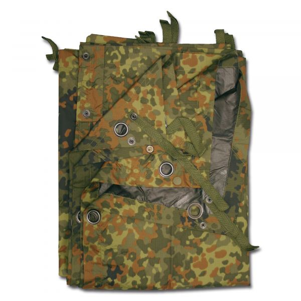 Bâche commando TacGear flecktarn