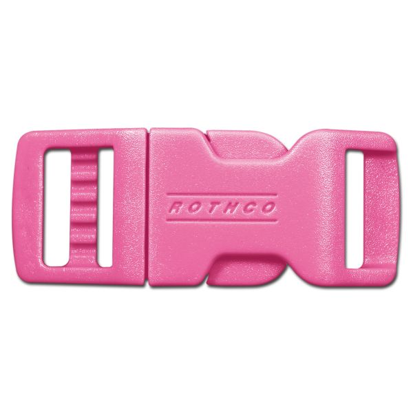 Rothco 1/2 Side Release Boucle Clip Rose