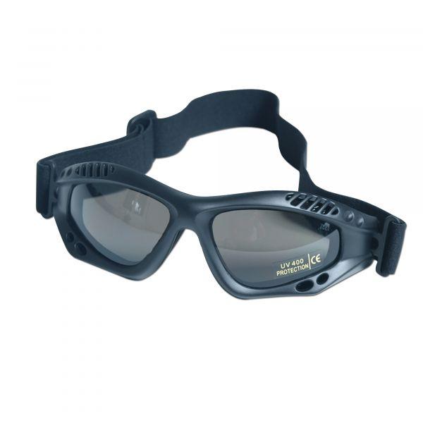 Masque de protection Commando Air-Pro noir smoke