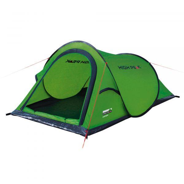 High Peak Tente Popup Campo vert phantom