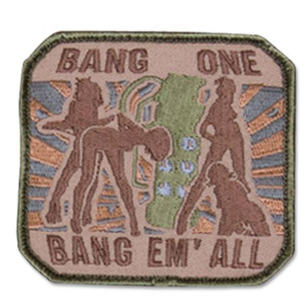 Patch MilSpecMonkey Bang One Bang Em All large arid