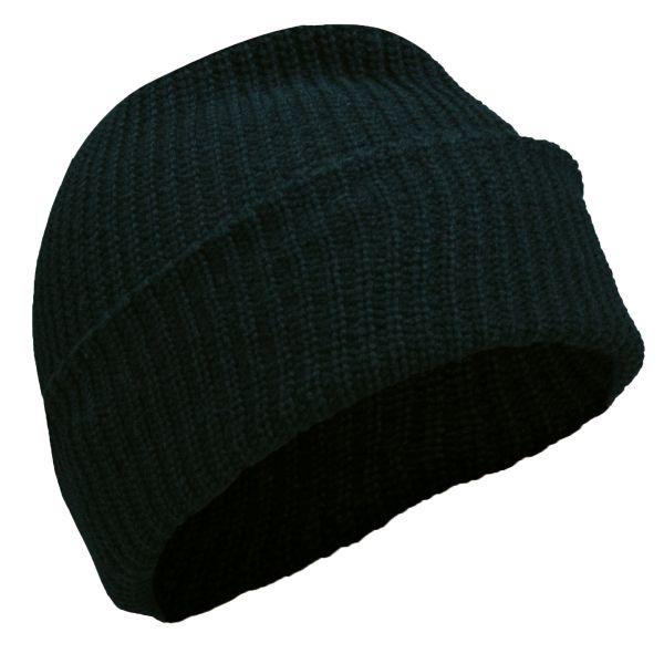 Bonnet acrylique noir